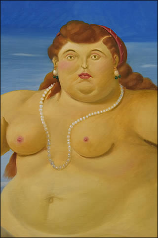 Portrait d'Europe par Botero