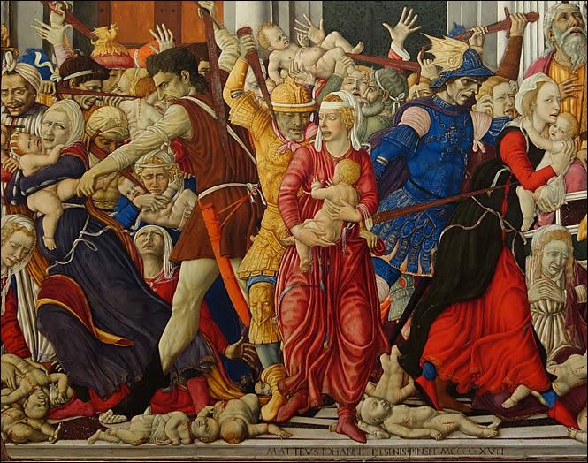 Détail du Massacre des Saints Innocents