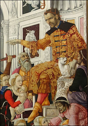 Hérode dans le Massacre des Saints Innocents
