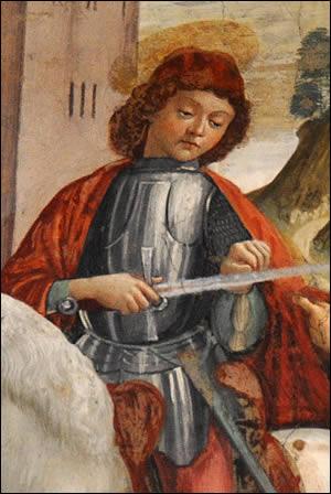 Portrait de Saint Martin de Tours